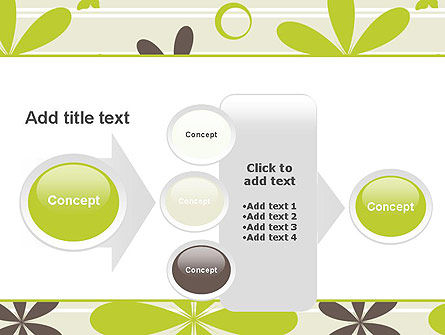 Floral Design Pattern PowerPoint Template Slide 17