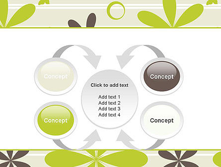 Floral Design Pattern PowerPoint Template Slide 6