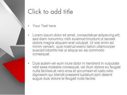 Abstract Broken Glass PowerPoint Template, Slide 3, 12485, Abstract/Textures — PoweredTemplate.com