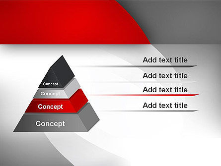 Abstract Gray Arcs PowerPoint Template Slide 12
