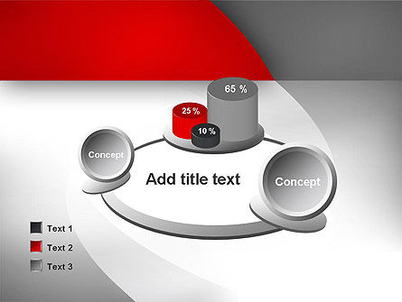 Abstract Gray Arcs PowerPoint Template Slide 16