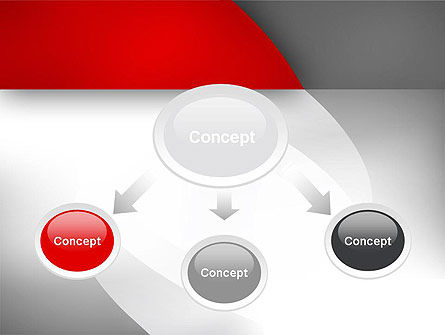 Abstract Gray Arcs PowerPoint Template, Slide 4, 12487, Abstract/Textures — PoweredTemplate.com