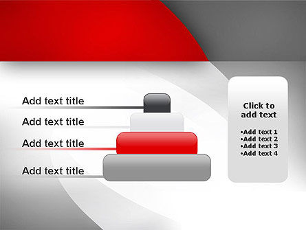 Abstract Gray Arcs PowerPoint Template Slide 8