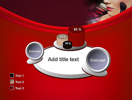 Make Up PowerPoint Template Slide 16