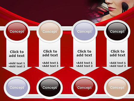 Make Up PowerPoint Template Slide 18