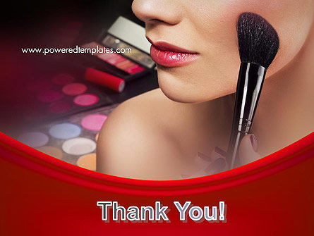 Make Up PowerPoint Template Slide 20