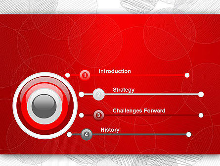 Sketch Circles PowerPoint Template Slide 3