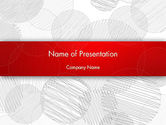 Abstract/Textures: Sketch Circles PowerPoint Template #12494