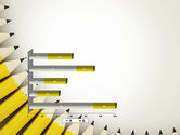 Pencils Arranged in Semicircle PowerPoint Template#11