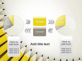 Pencils Arranged in Semicircle PowerPoint Template#16