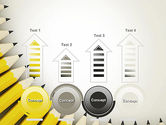 Pencils Arranged in Semicircle PowerPoint Template#7