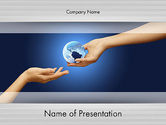 Managing Your World PowerPoint Template#1