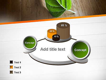 Turn Over a New Leaf PowerPoint Template Slide 6