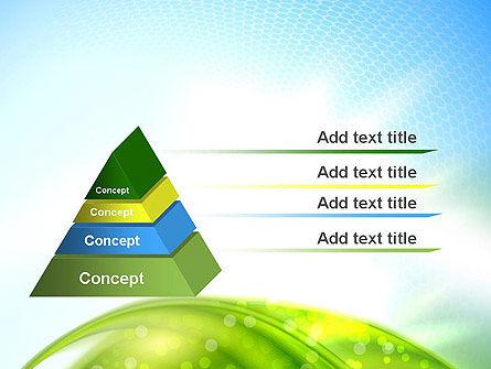 Green Dream Spotty PowerPoint Template, Slide 4, 12501, Nature & Environment — PoweredTemplate.com