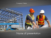 Construction: Building and Construction PowerPoint Template #12502