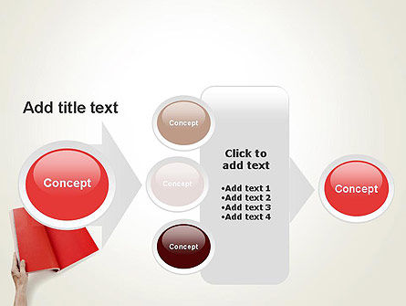 Red Page PowerPoint Template Slide 17