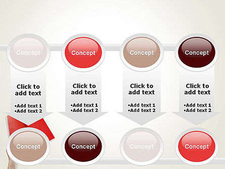 Red Page PowerPoint Template Slide 18