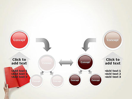 Red Page PowerPoint Template Slide 19
