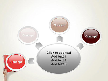Red Page PowerPoint Template Slide 7