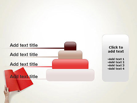 Red Page PowerPoint Template Slide 8