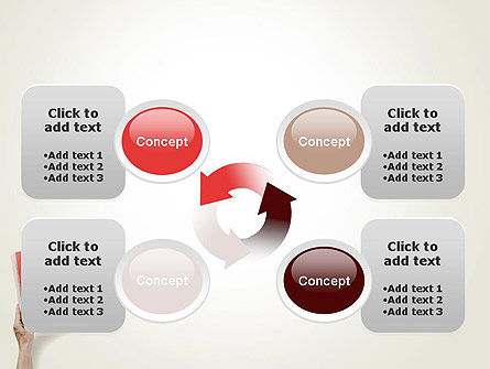 Red Page PowerPoint Template Slide 9