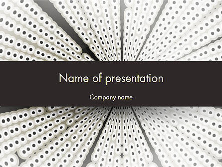 Abstract/Textures: Abstract One Point Perspective PowerPoint Template #12504