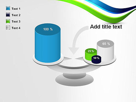 Green and Blue Waves PowerPoint Template Slide 10