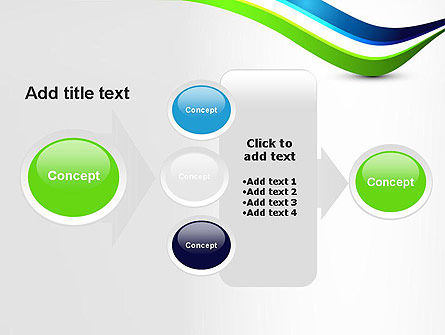 Green and Blue Waves PowerPoint Template Slide 17