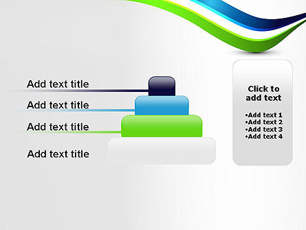 Green and Blue Waves PowerPoint Template Slide 8