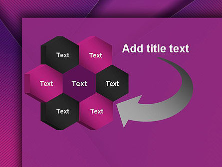 Stylish Purple PowerPoint Template Slide 11