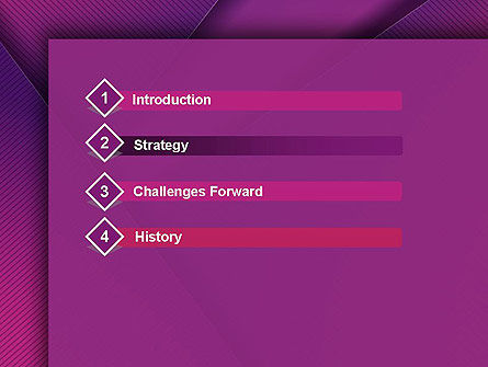 Stylish Purple PowerPoint Template Slide 3