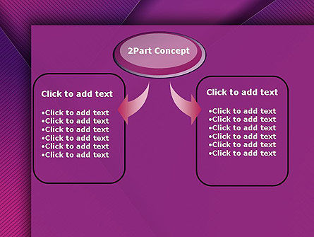 Stylish Purple PowerPoint Template Slide 4