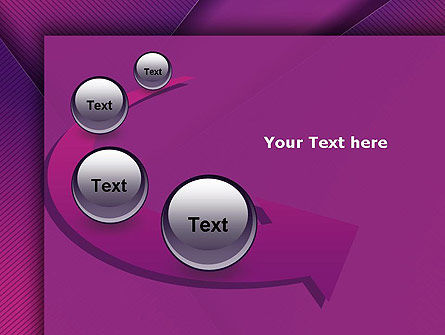 Stylish Purple PowerPoint Template Slide 6