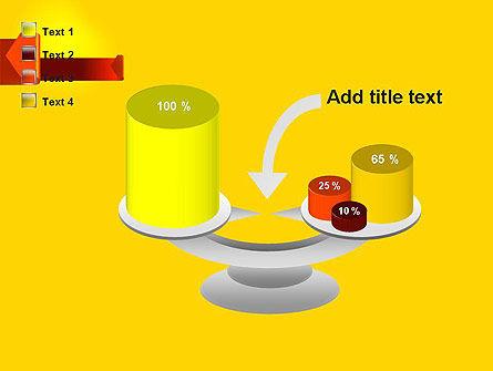 Folded Arrows PowerPoint Template Slide 10