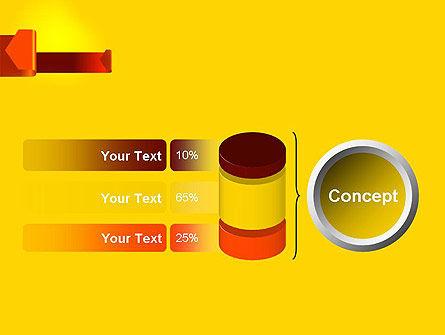 Folded Arrows PowerPoint Template Slide 11