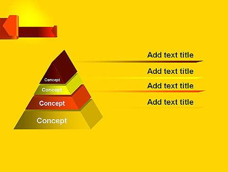 Folded Arrows PowerPoint Template Slide 12