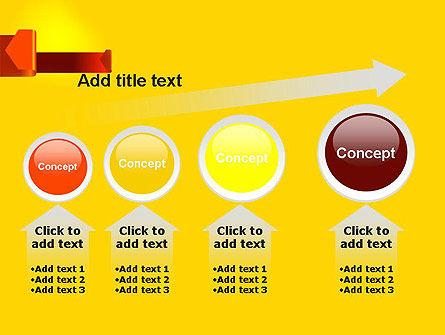 Folded Arrows PowerPoint Template Slide 13