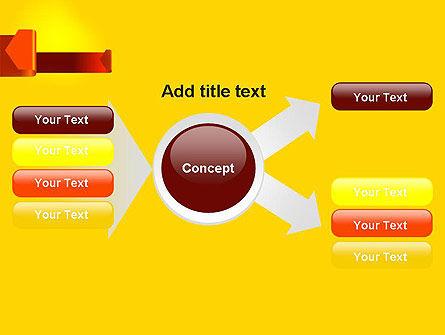 Folded Arrows PowerPoint Template Slide 14