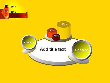 Folded Arrows PowerPoint Template Slide 16