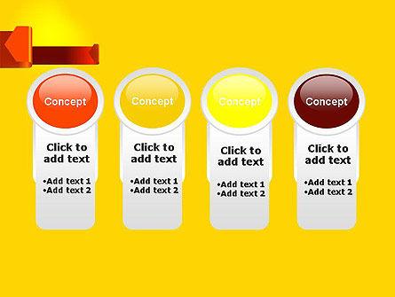 Folded Arrows PowerPoint Template Slide 5