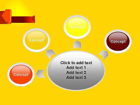Folded Arrows PowerPoint Template Slide 7