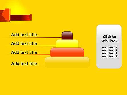 Folded Arrows PowerPoint Template Slide 8