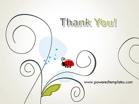 Ladybug in Children Drawing Style PowerPoint Slide 20