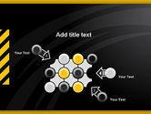 Cool Black Orange Theme PowerPoint Template#10