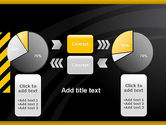Cool Black Orange Theme PowerPoint Template#16