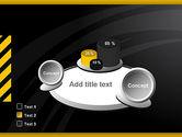 Cool Black Orange Theme PowerPoint Template#6