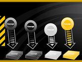 Cool Black Orange Theme PowerPoint Template#8