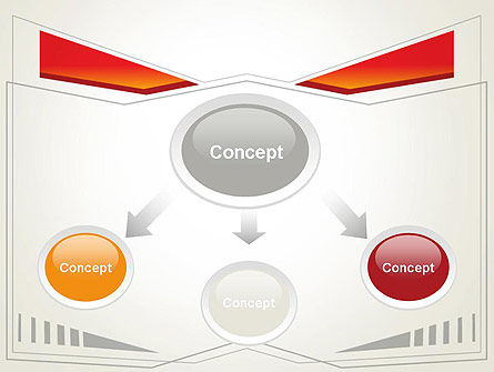 Abstract Broken Frame PowerPoint Template Slide 4