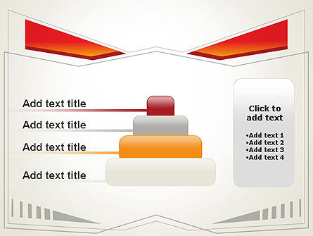 Abstract Broken Frame PowerPoint Template Slide 8