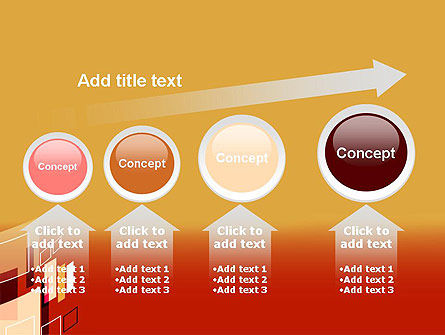Abstract Floating Rectangles PowerPoint Template Slide 13